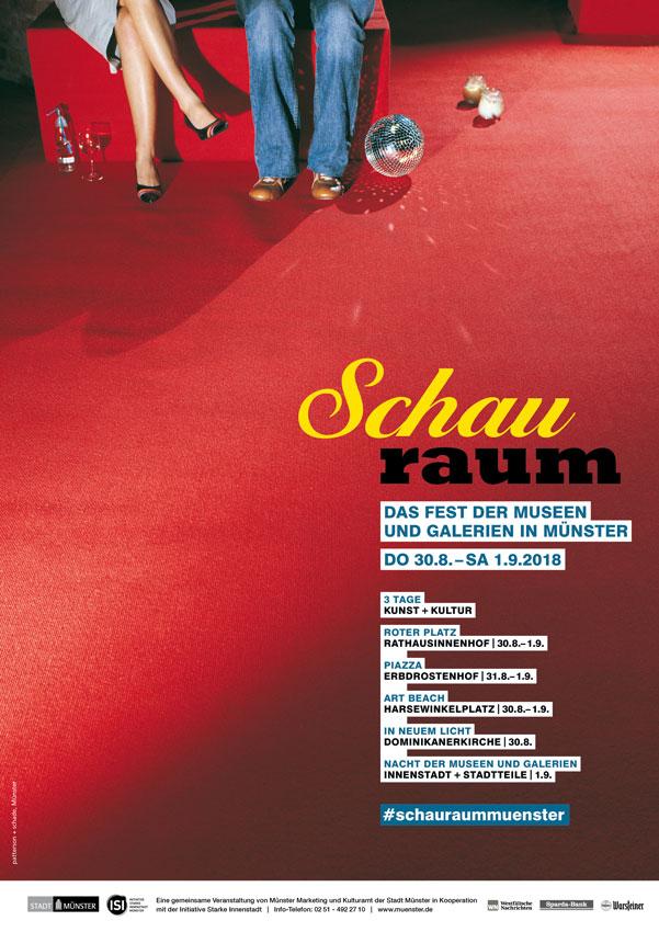 Abbildung von Schauraum-Plakat 2018