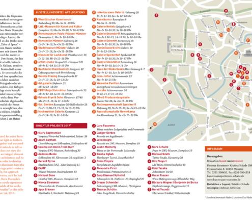 Abbildung von art map münster innen