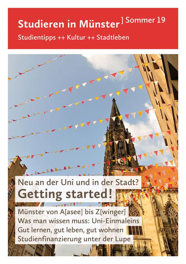Titel von Studieren in Münster Sommer 19