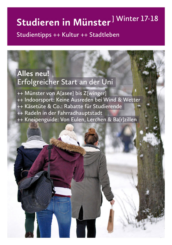 Titel von Studieren in Münster Winter 17/18